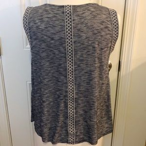 Anthropologie W5 Marbled Top Size Large